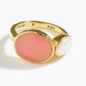 J. CREW - Demi-Fine Stone Ring - NWB